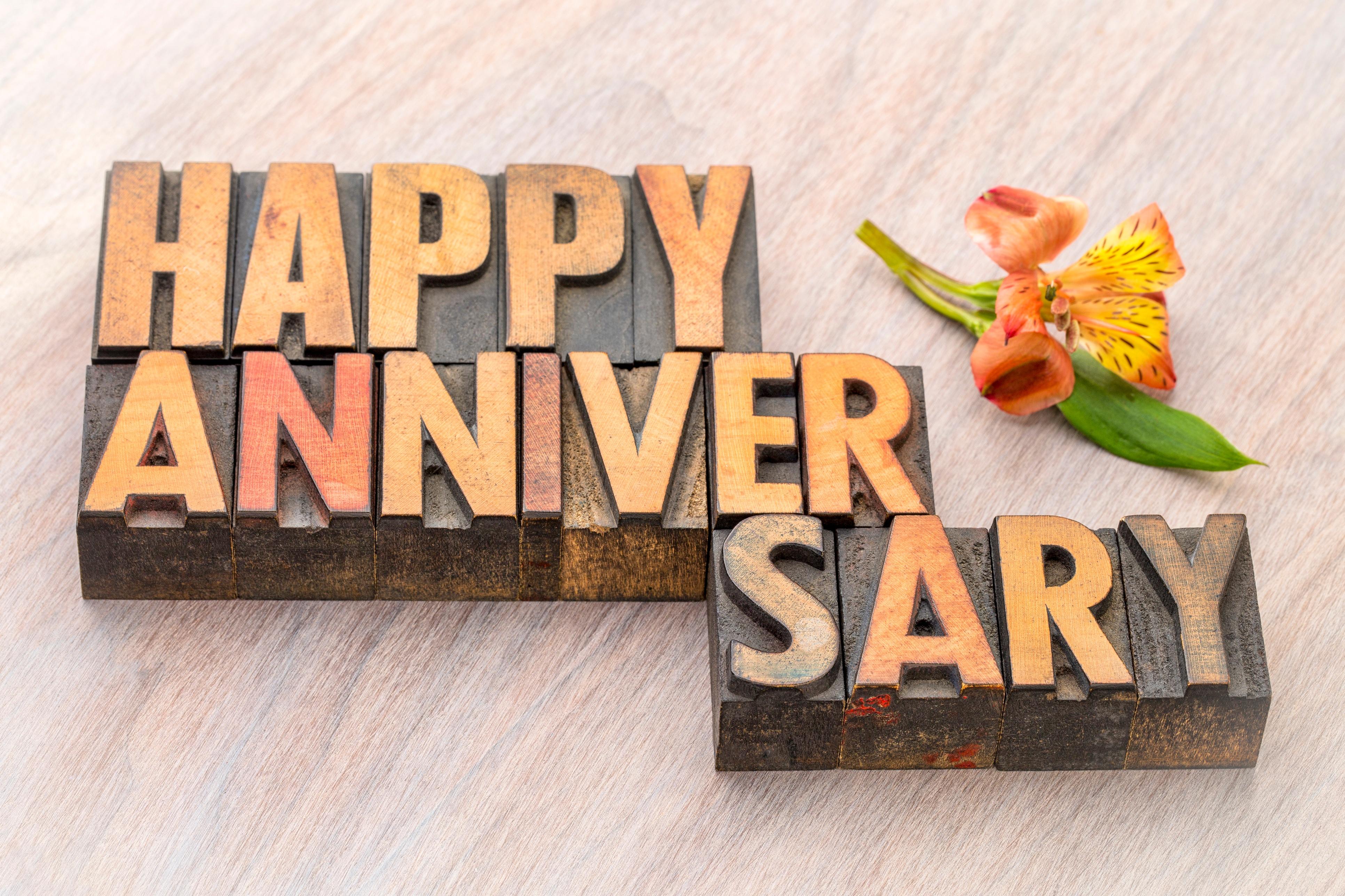 Signature 5 Year Anniversary
