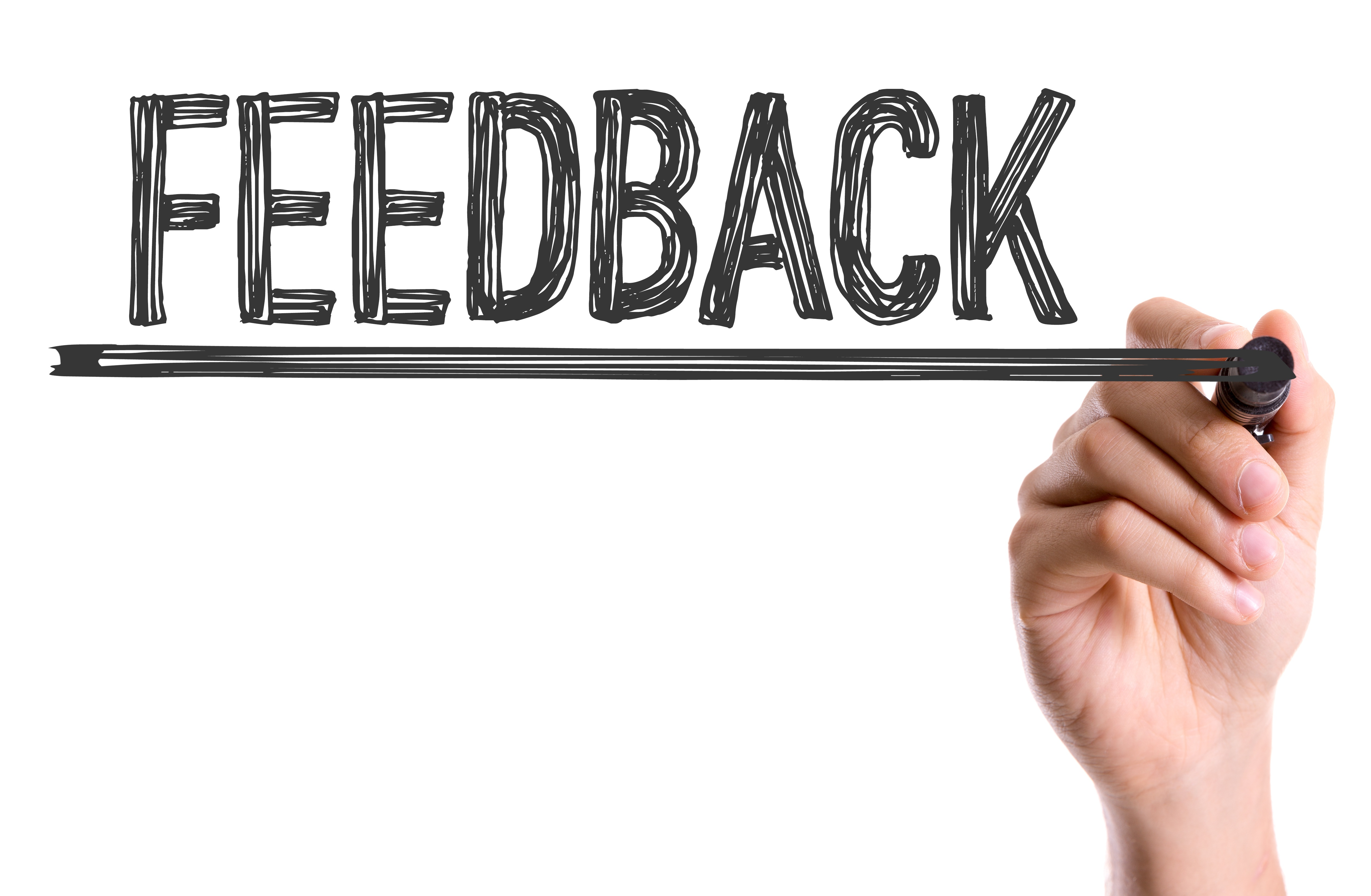 """""""I"""" is for: Internalize feedback and take action"""